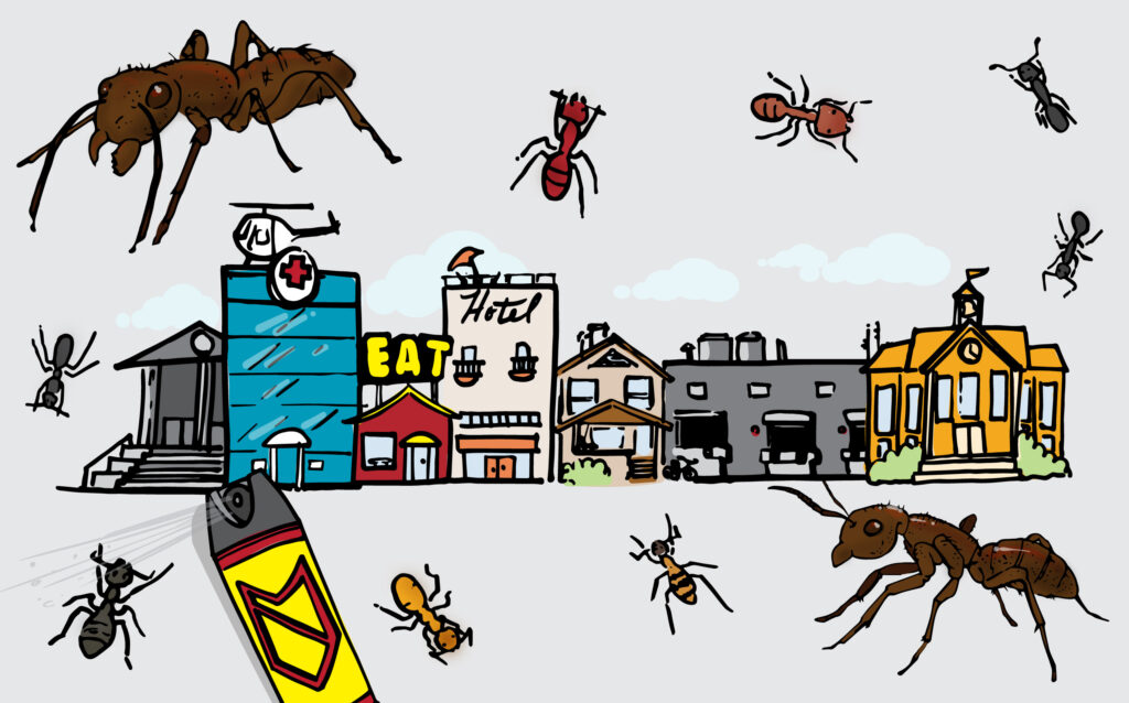 OPC Pest Services - How to Keep Your Business Ant Free