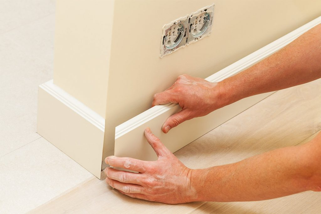OPC Pest Services - Baseboard Repair