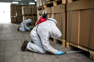 OPC Pest Services - Spraying Warehouse