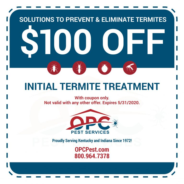 OPC Pest Services - Termite Coupon NEW