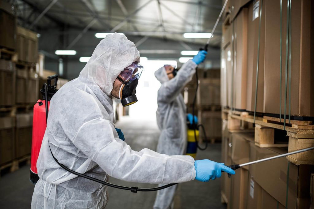 OPC Pest - Spraying Warehouse
